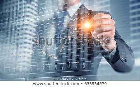 dinamikus · üzlet · üzleti · csapat · eladó · szervezet · férfi - stock fotó © kentoh
