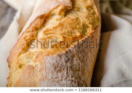 Fresh baguette delish crispy Stock photo © Peteer