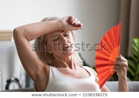 women with menopause Stock photo © adrenalina