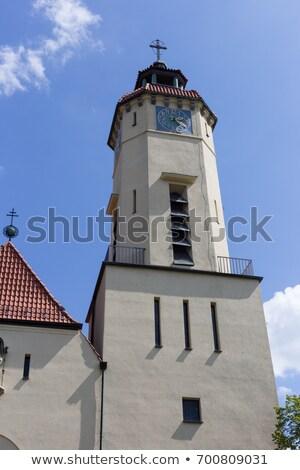 Edad iglesia altar Alemania dorado blanco Foto stock © kyolshin