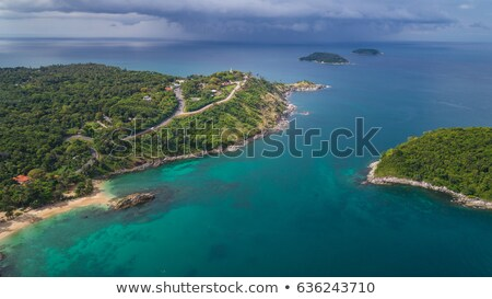 tropische · resort · vierkante · bloem · water · boom - stockfoto © moses