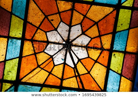 19th century stained glass Stock photo © smithore