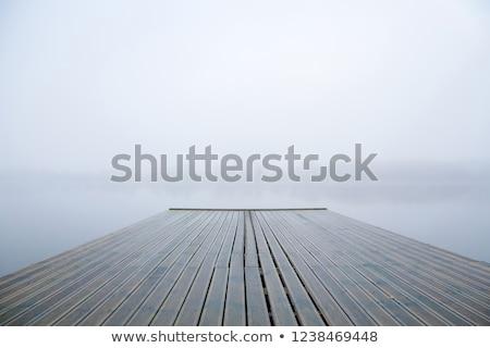 footbridge in lake stock photo © witthaya