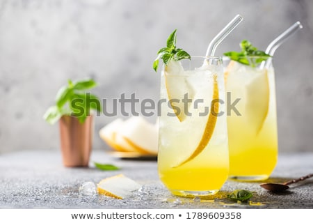 fresh melon and mint Stock photo © M-studio
