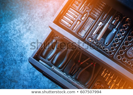 Manual worker with tool kit Stock photo © photography33