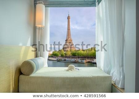 Eiffel Tower corner Stock photo © Harlekino