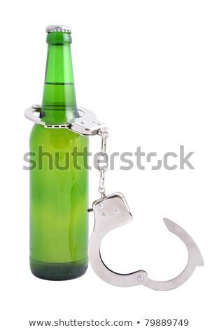 Alcolismo bottiglia birra sicurezza bere Foto d'archivio © pterwort