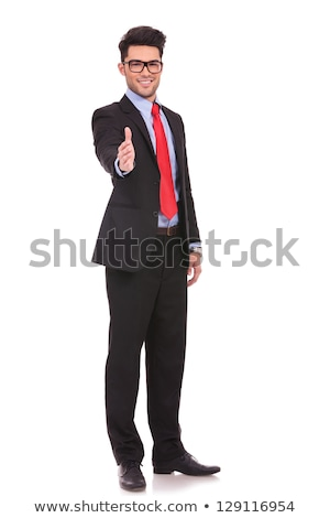 businessman offering you his hand stock photo © photography33