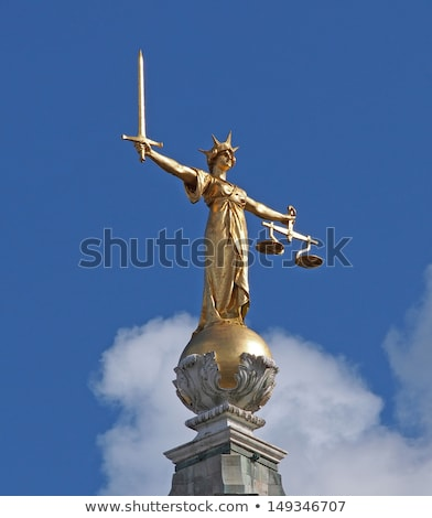 Scales of Justice, Old Bailey Stock photo © Snapshot
