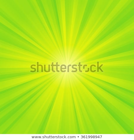 abstract green yellow background with shining lines and stars Stock photo © marinini