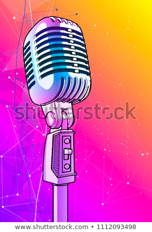 Multi microphones Stock photo © hd_premium_shots