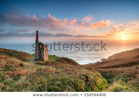 Shoreline on Porthleven beach, Cornwall UK. Stock photo © latent