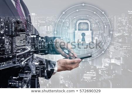 Segurança chave móvel privacidade telefone Foto stock © stuartmiles