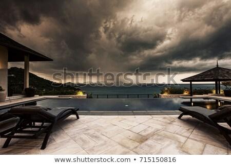 tempestade · paraíso · estrada · ilha · mar · saúde - foto stock © danielbarquero