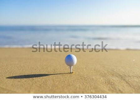 воды · мяч · для · гольфа · небе · гольф · пузырьки · чистой - Сток-фото © leungchopan