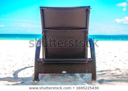Woven chair Stock photo © ia_64