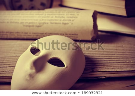 playwriting and performing arts Stock photo © nito
