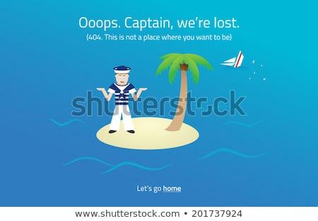 Foto stock: 404 · teia · página · marinheiro · deserto · ilha