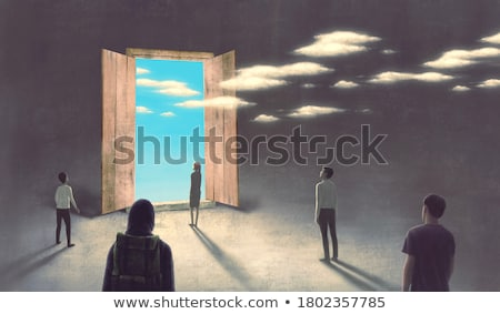 Surreal Woman Stock photo © paulfleet
