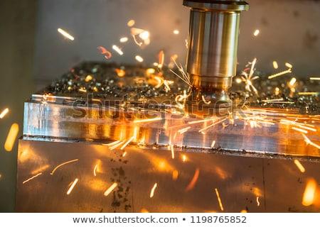 CNC steel Stock photo © Nneirda