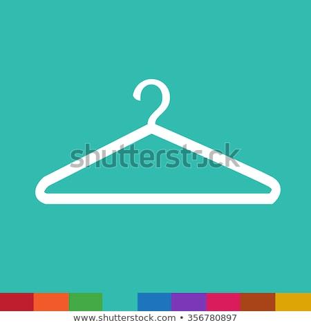 Hanger Icon Illustration synbol design Stock photo © kiddaikiddee