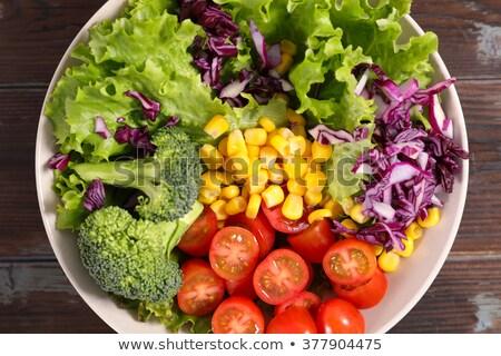 rainbowl salad , veggie bowl Stock photo © M-studio