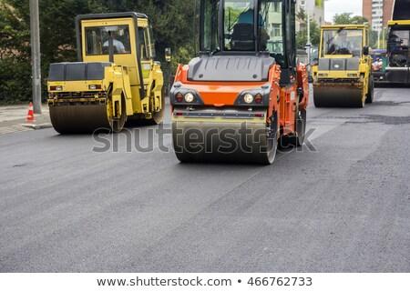дорожное строительство дороги улице работник инструментом ремонта Сток-фото © smuki