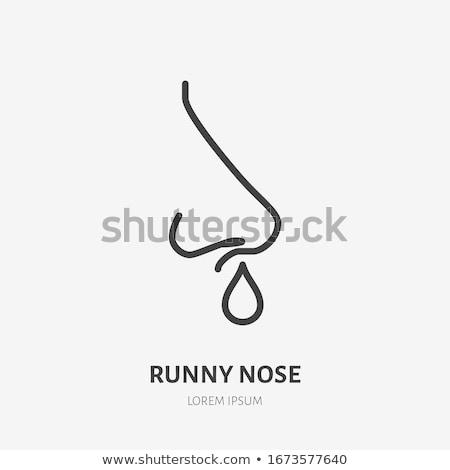 Nosebleed Stock photo © ia_64
