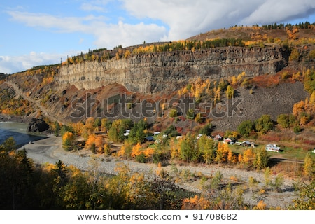 Tahltan River in Northern British Columbia Stock photo © pictureguy