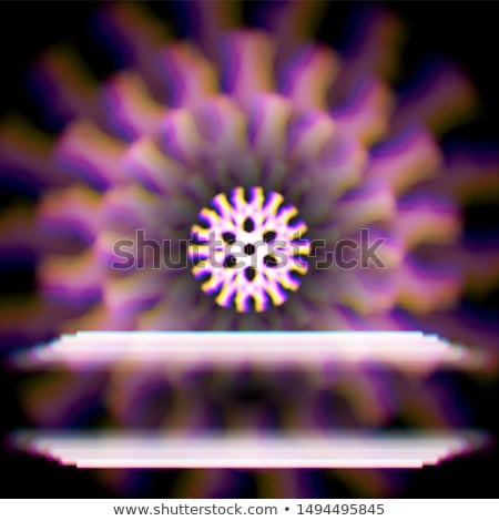 Místico brilhante estrela seis abstrato Foto stock © SwillSkill