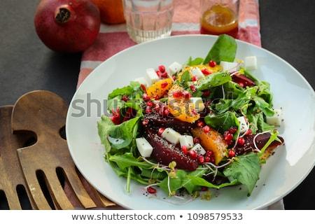 Narenciye nar salata narenciye tohumları meyve Stok fotoğraf © Digifoodstock