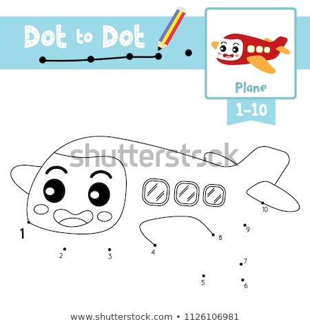 接続 番号 10 ゲーム 子供 タスク ストックフォト © Olena