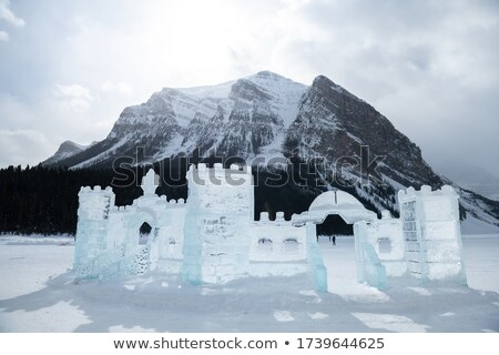 Ice sculpturing in Alberta Stock photo © pictureguy