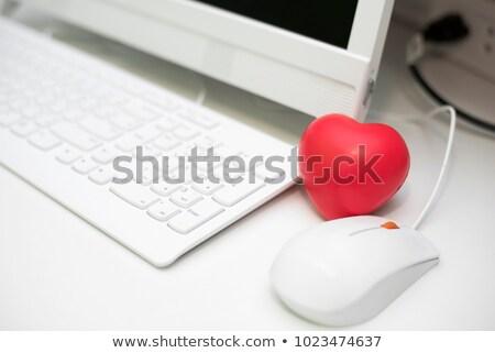 relaxation on keyboard key concept stock photo © tashatuvango