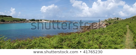 Panoramic view of St. Agnes and Gugh, Isles of Scilly. Stock photo © latent