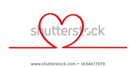 Hearts in a row  Stock photo © IS2