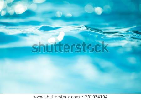 Blue water background Stock photo © ldambies