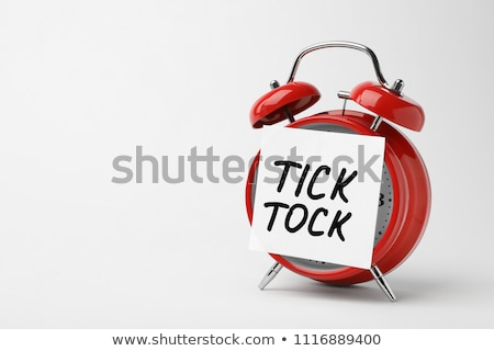 Tick tock Stock photo © pedrosala