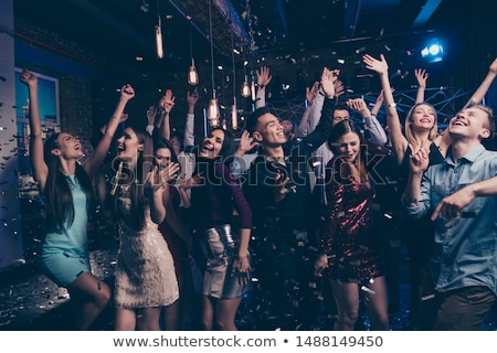 clubbing loudly at Party Stock photo © alexaldo