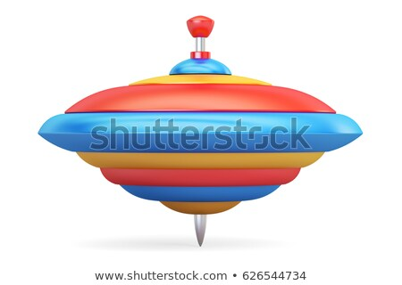 Whirligig top 3D Stock photo © djmilic