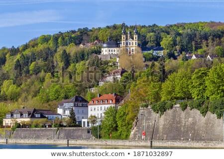 Церкви Германия паломничество лестницы небе весны Сток-фото © borisb17