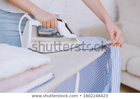 Mulher vestuário casa maduro senhora Foto stock © dashapetrenko