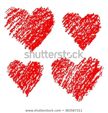 Heart simply icons Stock photo © ayaxmr