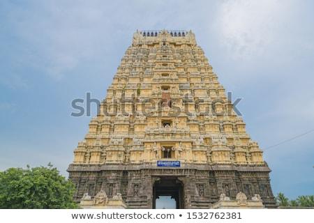 Hindu temple Ekambareswarar in Kanchipuram Stock photo © dmitry_rukhlenko