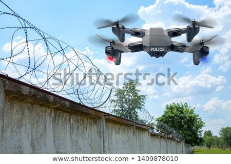 Policía robot poli inteligencia artificial ilustración ordenador Foto stock © jossdiim