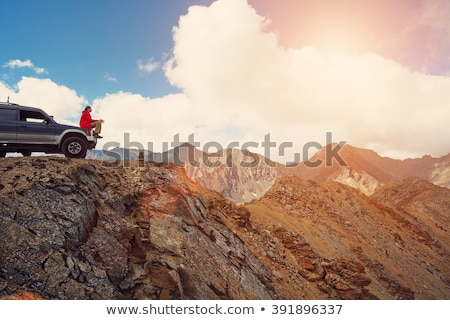 Man in offroad car Stock photo © Paha_L