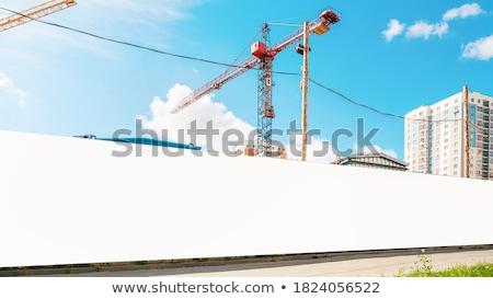 Stockfoto: Lang · straat · twee · lijnen · meervoudig · auto