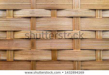 Wood Basket Weave Background stock photo © brm1949