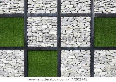 Moderne kunst muur internationale tuin tentoonstelling Stockfoto © rufous