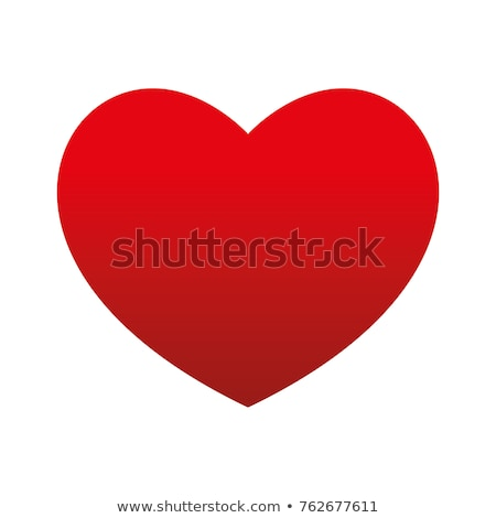 Big red heart Stock photo © cnapsys